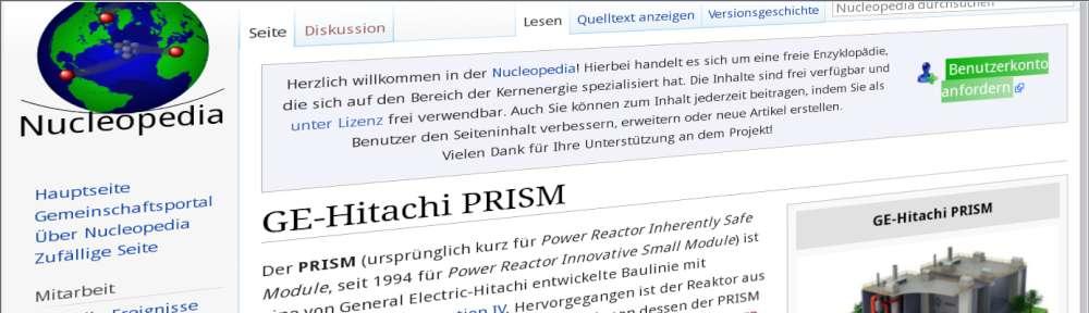 Screenshot Nucleopedia